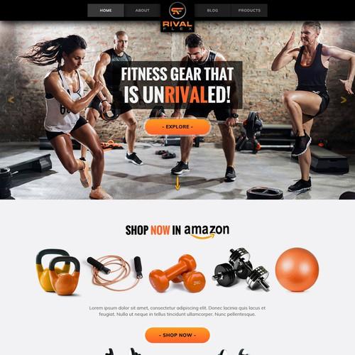 Wordpress Theme design for Rival Flex.