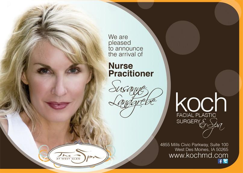 Koch Facial Plastic Surgery & Spa needs a new postcard or flyer