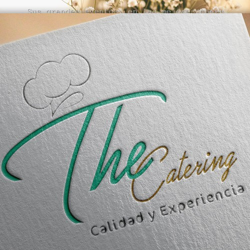 Logo concept for catering business
