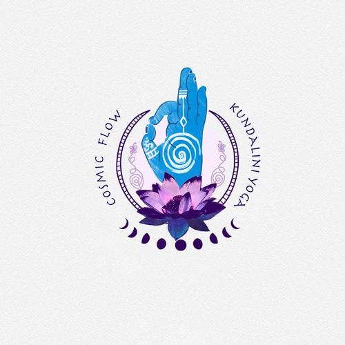 Logo for a kundalini yoga center