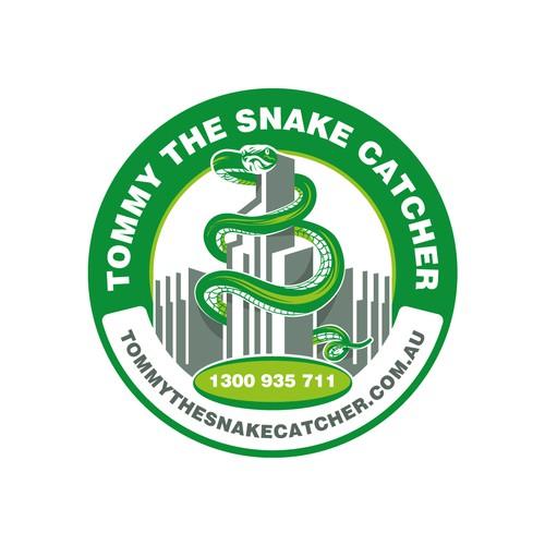 Tommy the snake catcher
