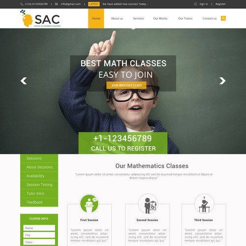 Responsive Design for Australian Tutor Company