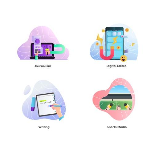 Web Icon Illustrator