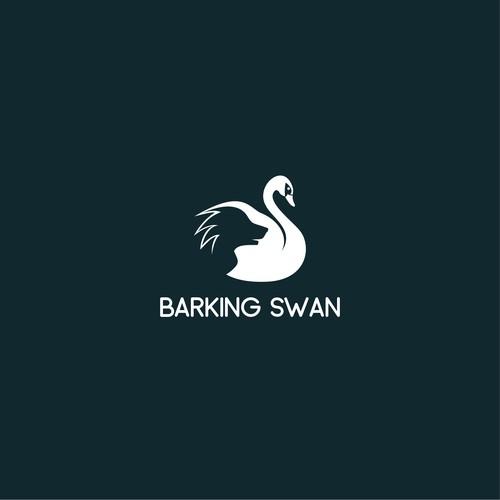 Barking Swan Logo Design