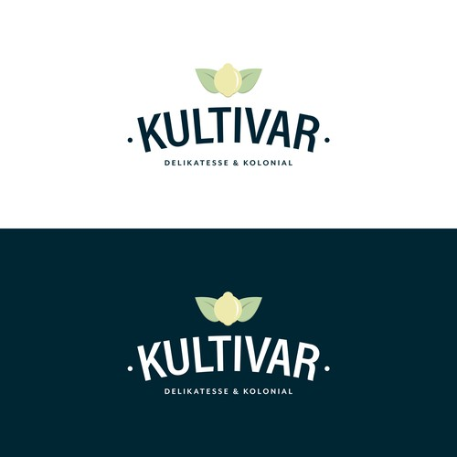 Logo concept for a local Norwegian food store