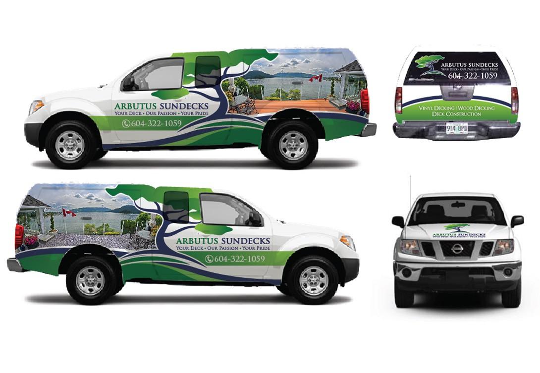 Guaranteed: Vehicle wrap for Arbutus Sundecks