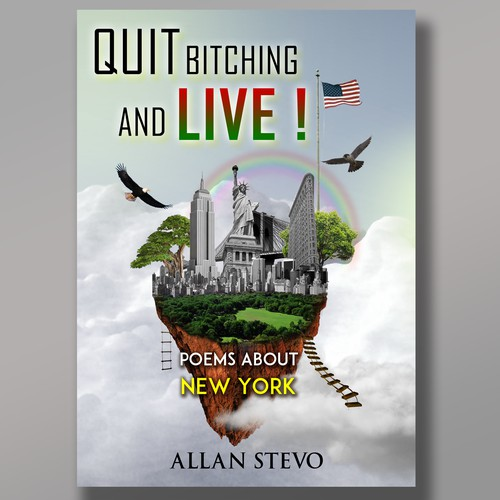 Design Cover for Poetry Book about New York City