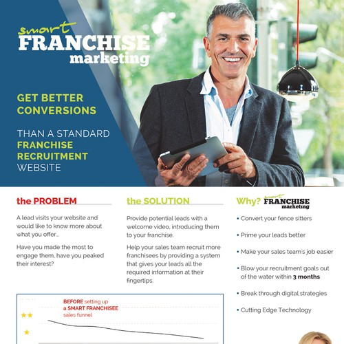 Franchise Marketing Flyer