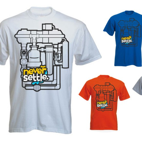 Tshirt for Campign - Clean water to kids in Cambodia
