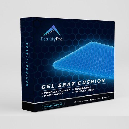Peakifypro - Gel Seat Cushion