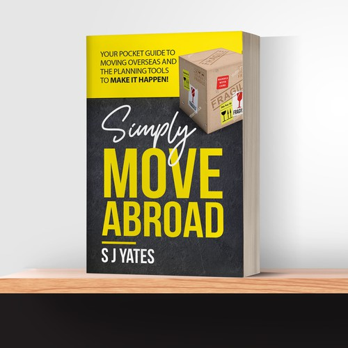 "Book Cover ""Simply Move Abroad"""