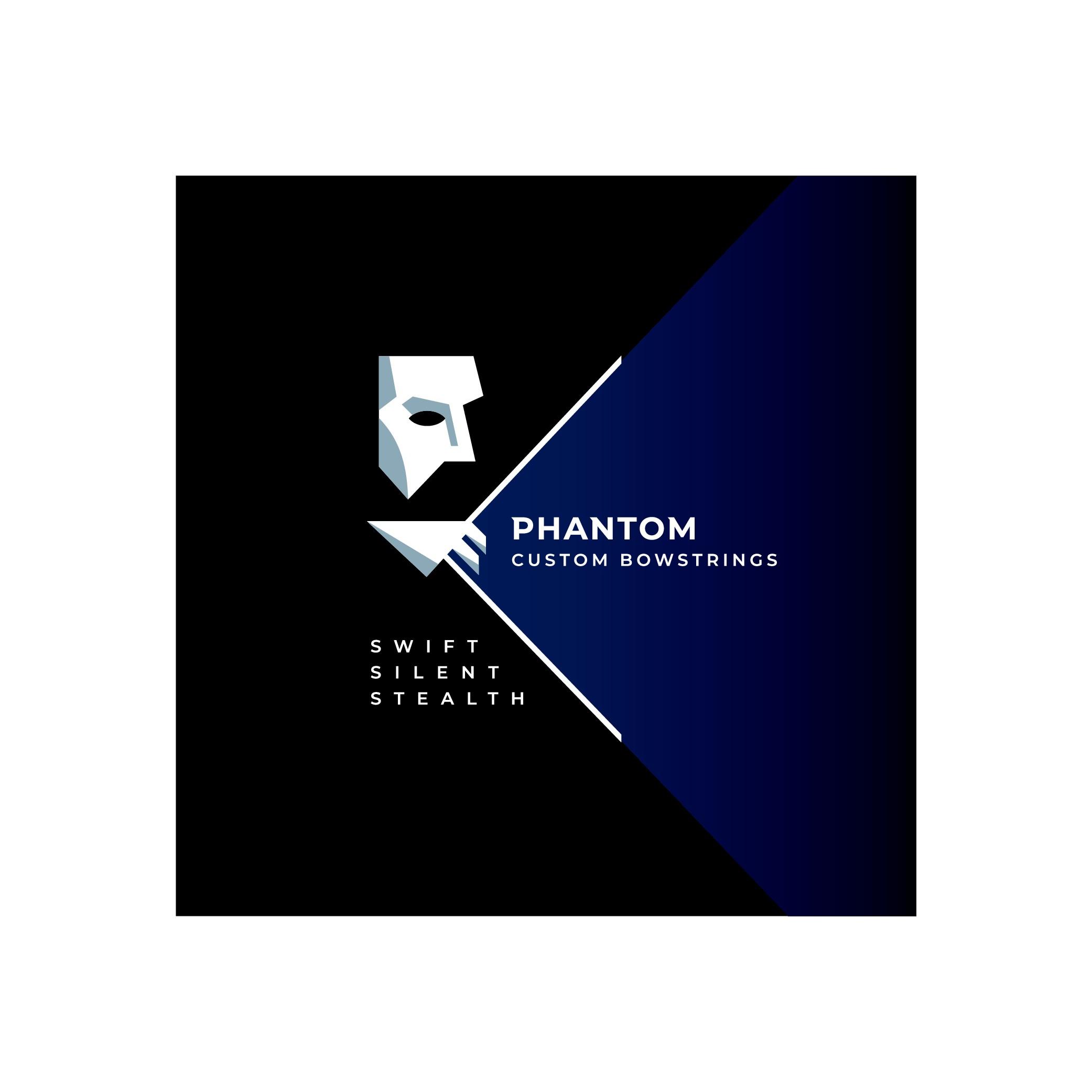 Phantom Custom Bowstrings needs a powerful new logo design