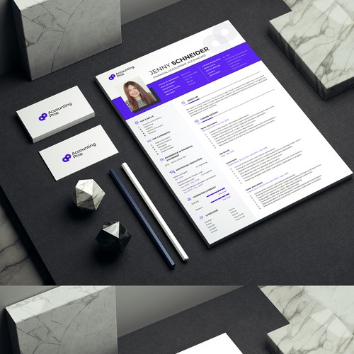 Clean Professional Resume Design
