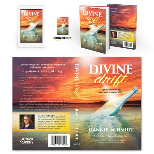 "Book cover for ""Divine Drift"" by Jeannie Schmidt"