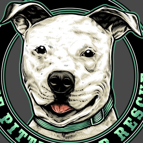 Dog Tshirt Illustration