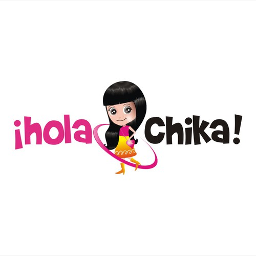 ¡Hola Chika! needs a new logo