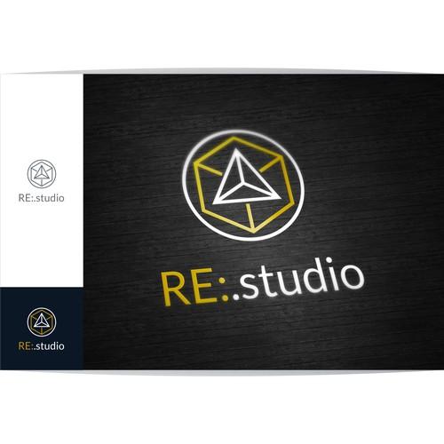 RE:Innovating .studio logo design