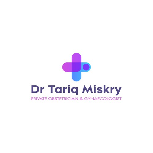 Feminine logo for a private doctor