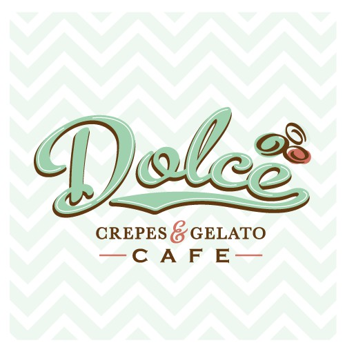 Logo for Dolce Crepes & Gelato