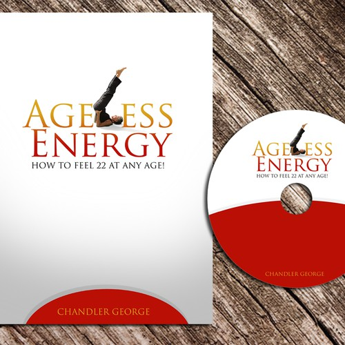 print or packaging design for ageless energy: How to feel 22 at any age!
