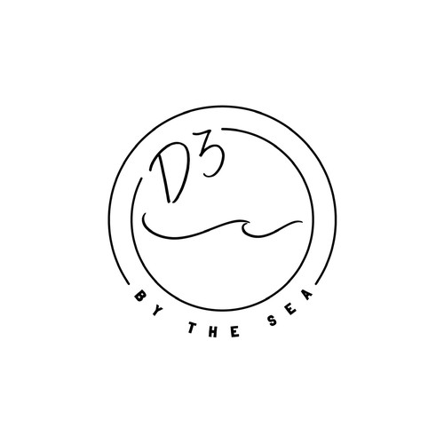 Logo for beach house real estate company
