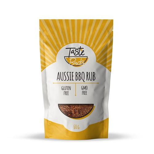 Taste Buds Packaging Gourmet Food