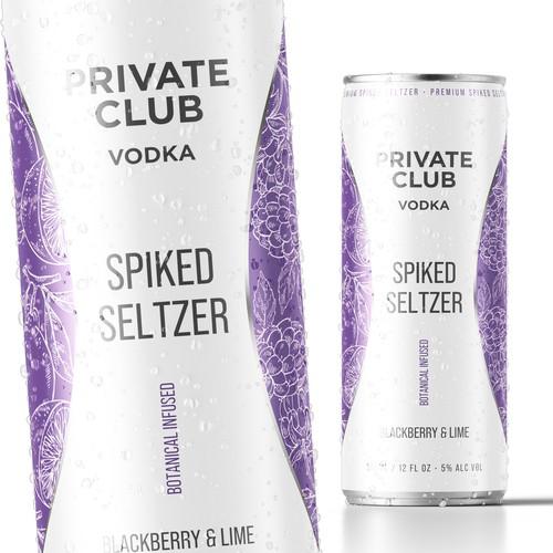 Private Club Vodka Label Design