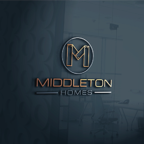 Create a simple but classy logo for a new residential home builder