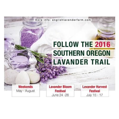 Poster for English Lavander Farm