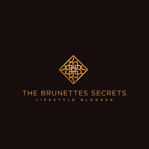 luxury lifestyle blogger logo