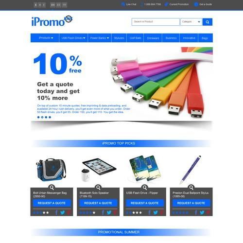 iPromo clean new look