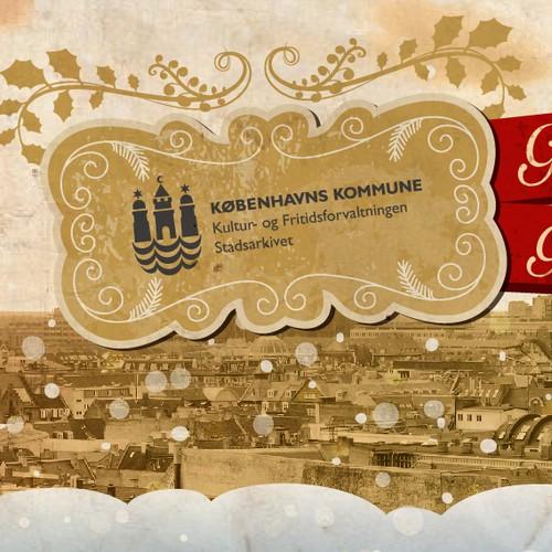 Christmas card for the City of Copenhagen