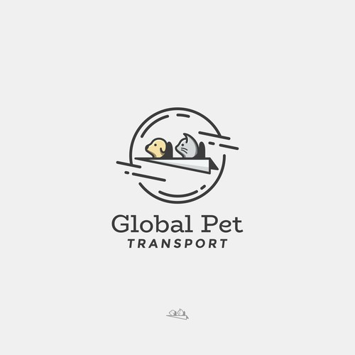 Logo for a Pet Conveyor Company