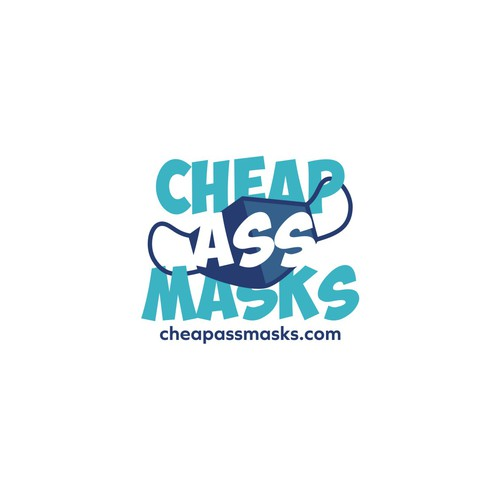 Logo concept for CheapAssMasks