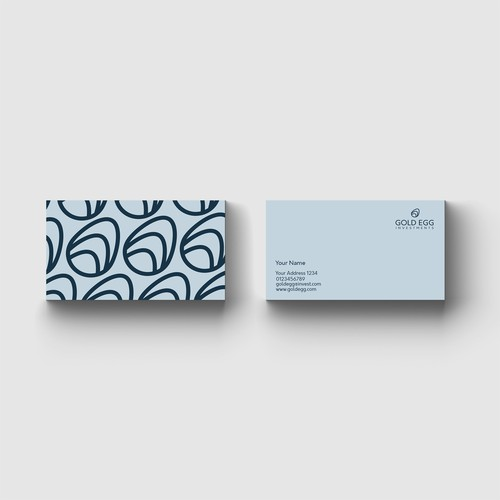 Logo design and business card for Gold Egg