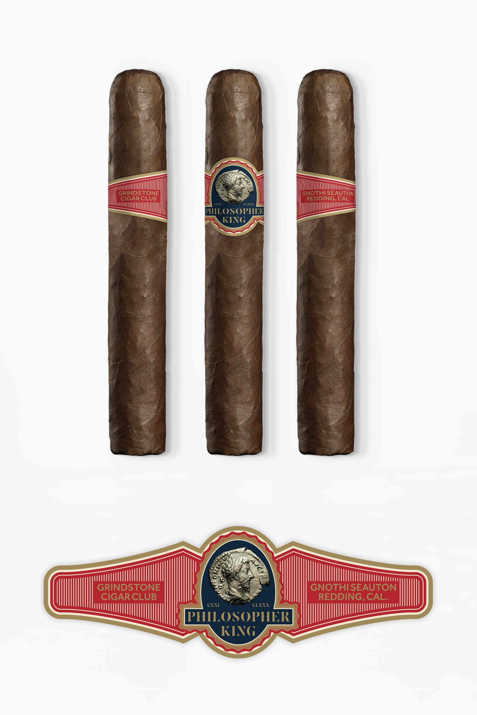Philosopher King Cigar Band