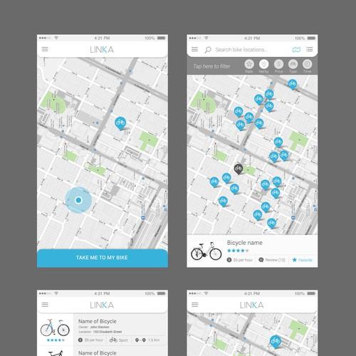 Bike Lock and Bike Sharing App