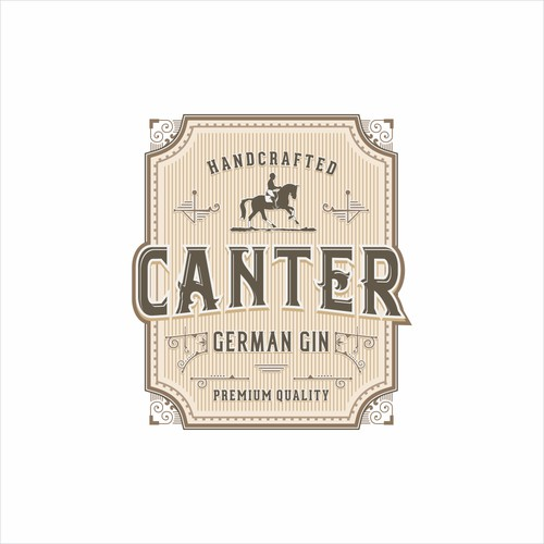 Logo for - CANTER - German Gin