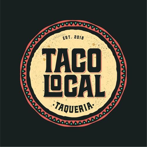 Tortilla Logo For Taco Food Trucks