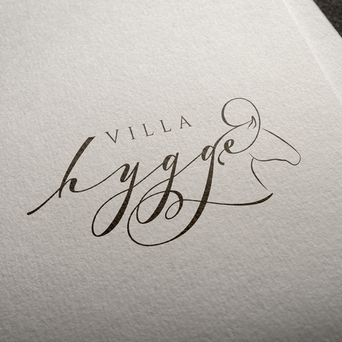 Elegant logo for Villa Hygge