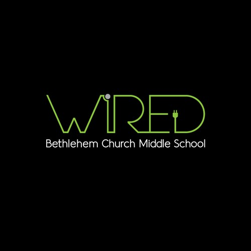 Logo concept for WIRED (Middle School)