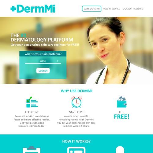 Web Design for Dermatologist