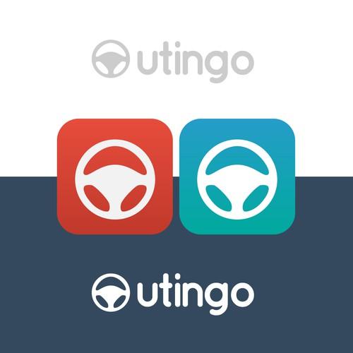 Logo concept for a car marketplace