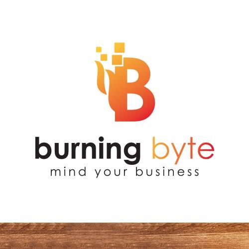 Burning byte