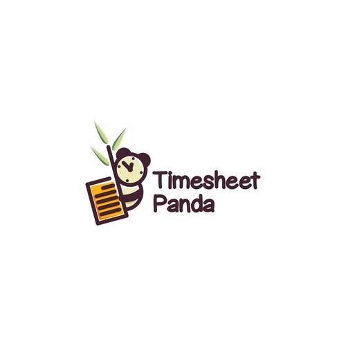 Cute logo for Timesheet Panda
