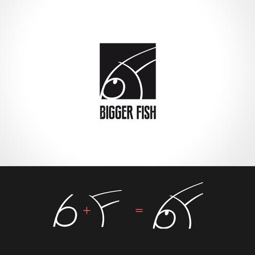Create a logo for Bigger Fish