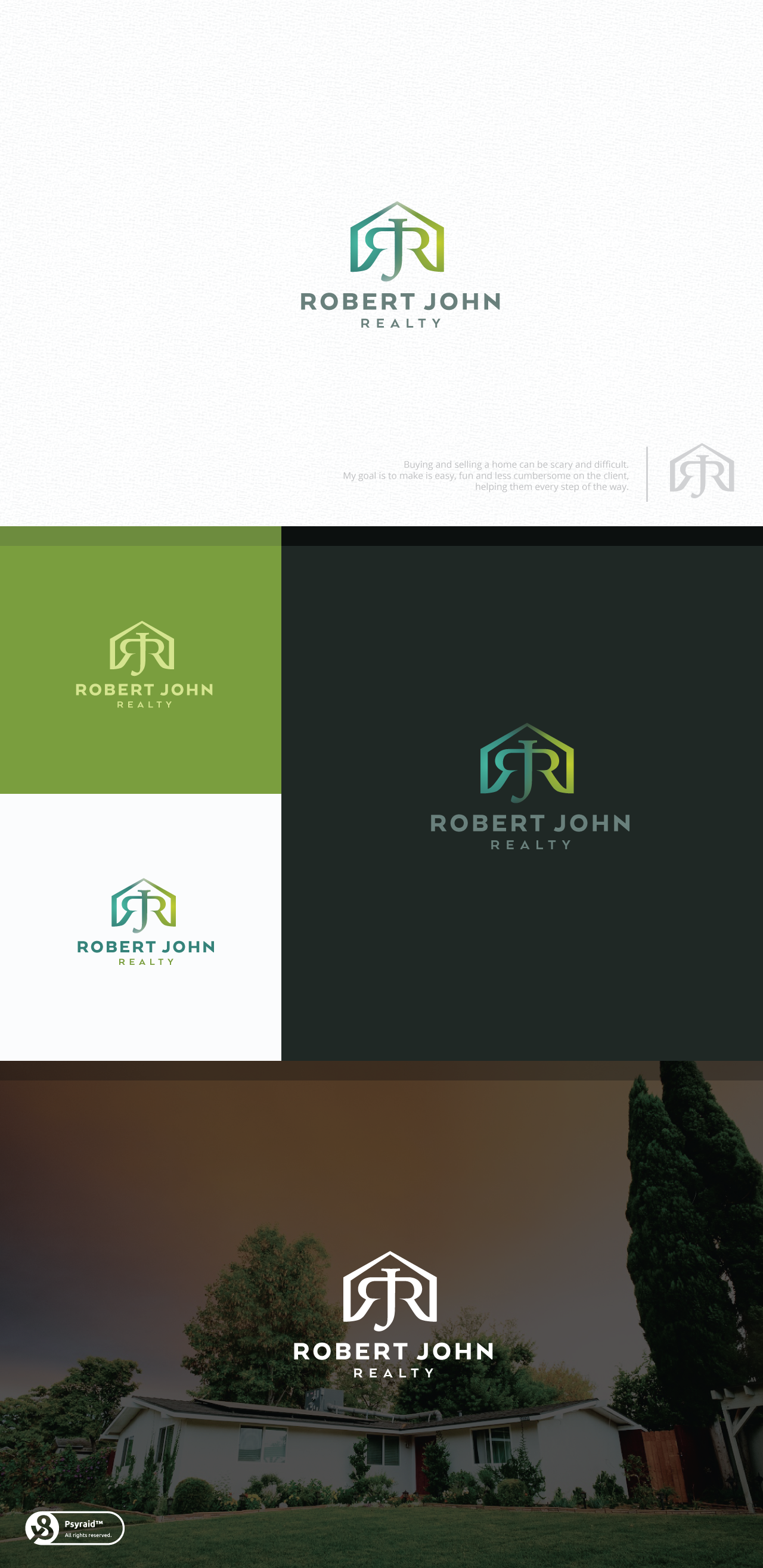 Looking for fresh, approachable, sophisticated, creative real estate logo for my new company.