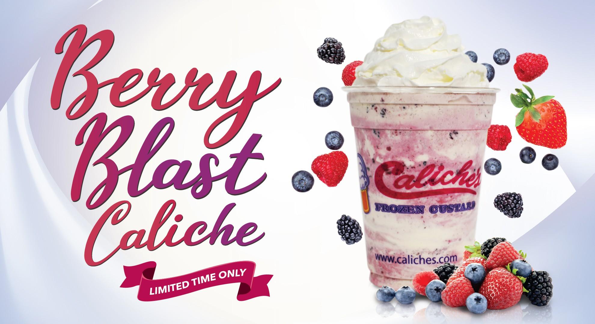 Berry Blast Caliche Poster