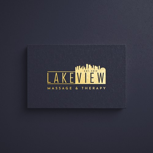 Luxurious Eye-Catching Lakeview's Logo