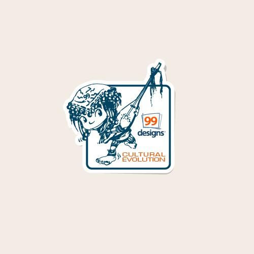 99design cultural evolution contest
